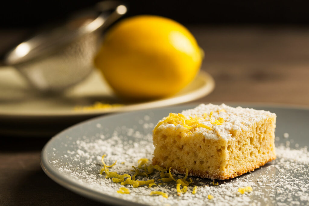 Fondant coco citron gâteau moelleux pour le petit déjeuner
